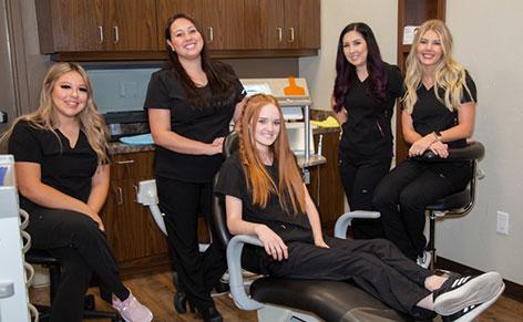 our dental team